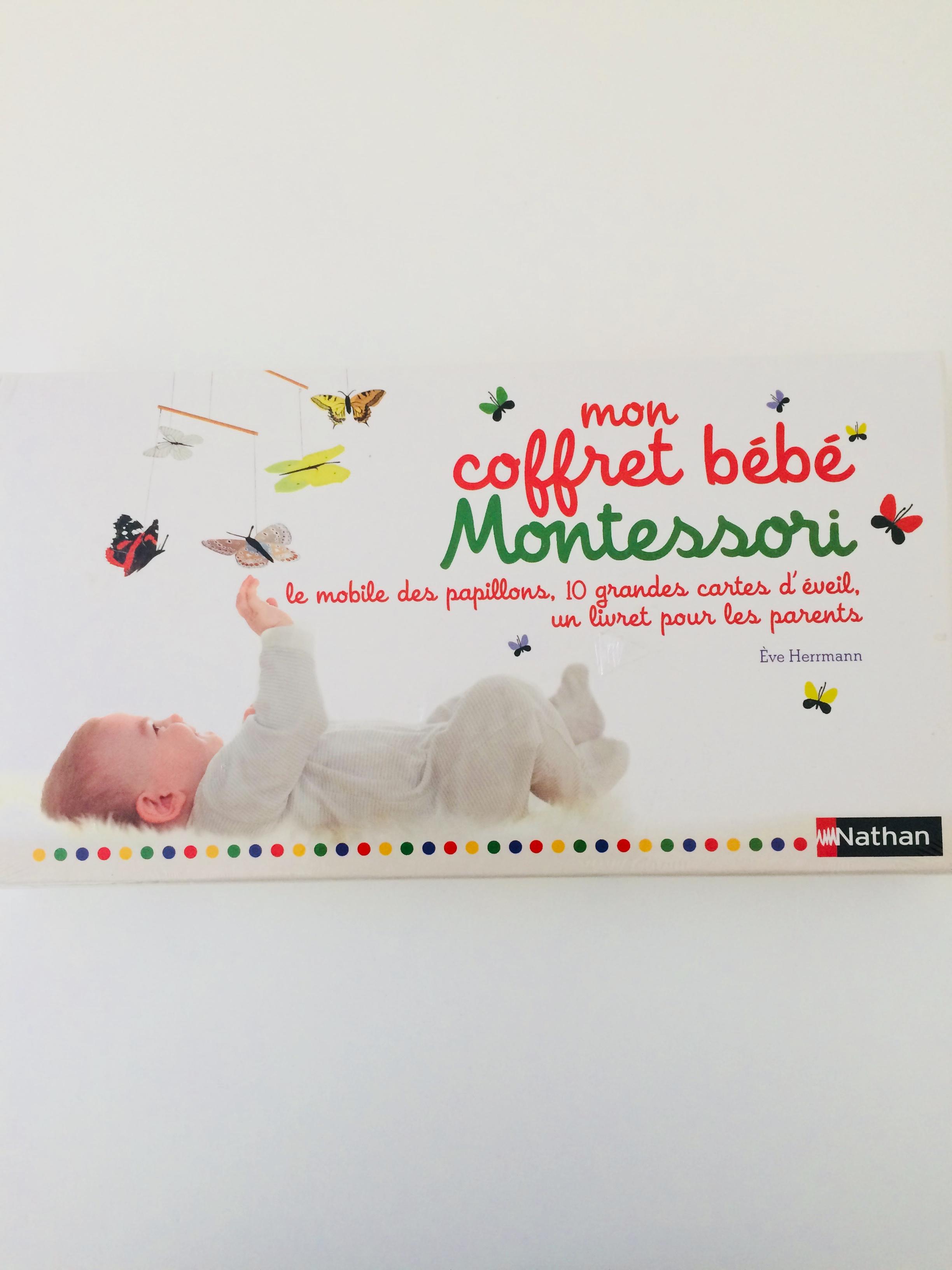 Livre Mon Coffret Bebe Montessori